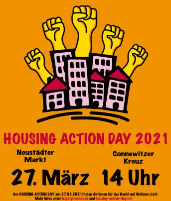 Aufruf zum Housing Action Day 2021