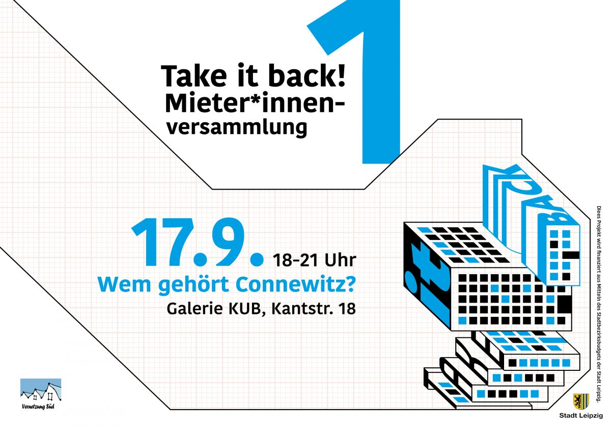 Take it back ! Wem gehört Connewitz?