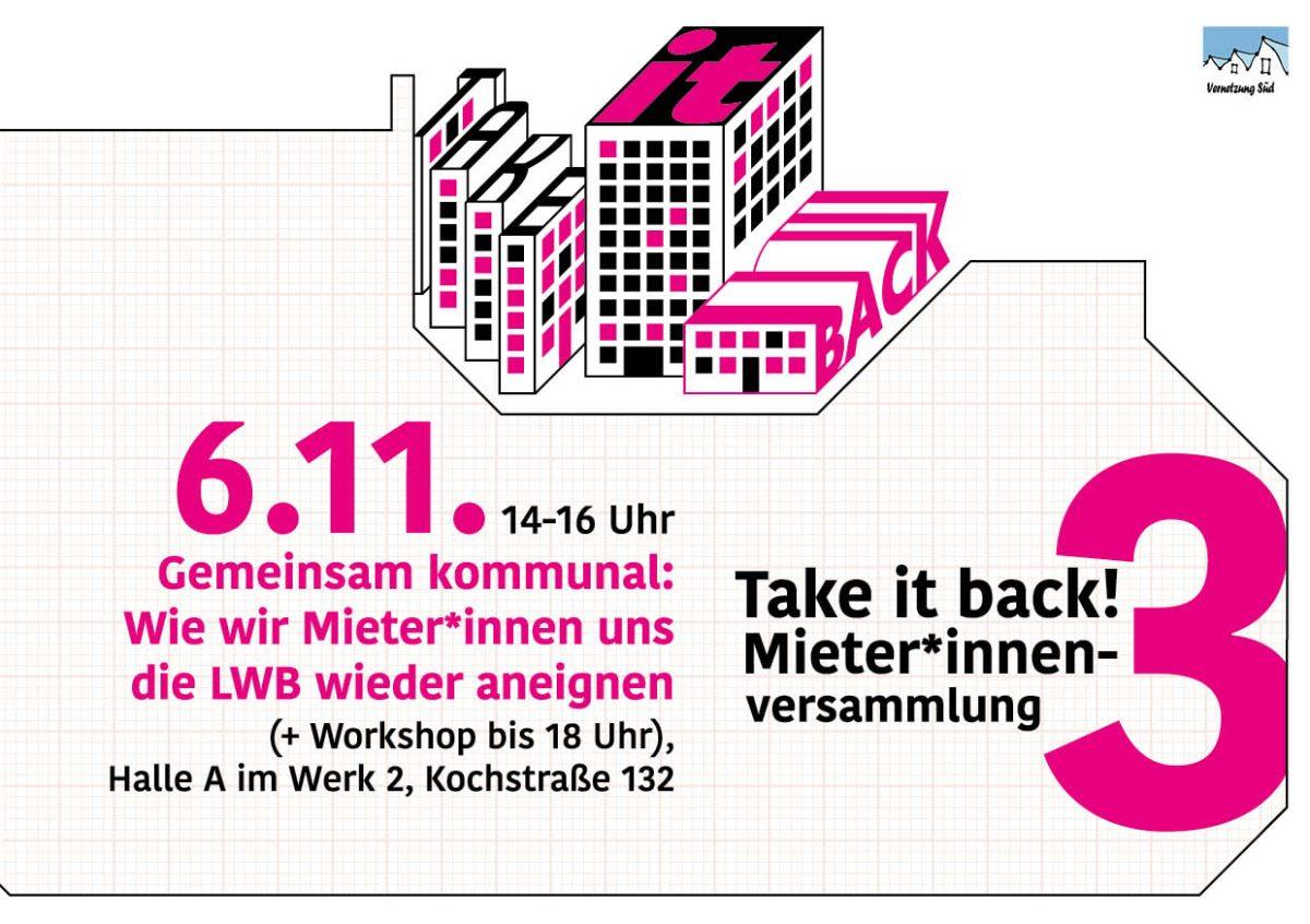 Gemeinsam kommunal: Wie wir Mieter*innen uns die LWB wieder aneignen